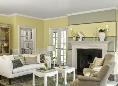 living room paint ideas with best combination colors