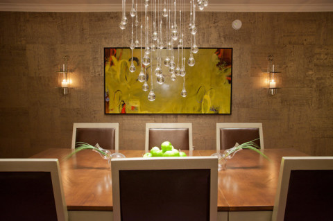 stylish dining room chandeliers