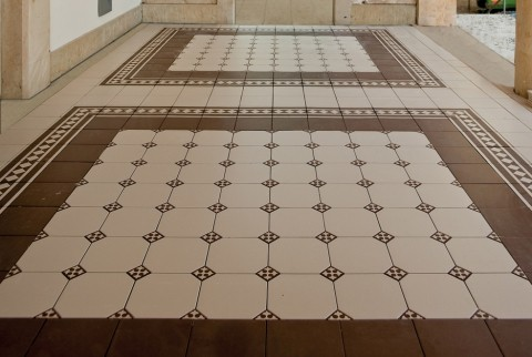 Floor Tiles with classic style
