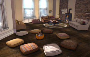 Floor Cushions The Comfort Room Accessories