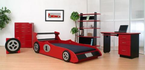 Kids beds with car style