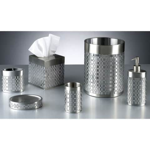 Stainless Steel Bath Accessories with grey color