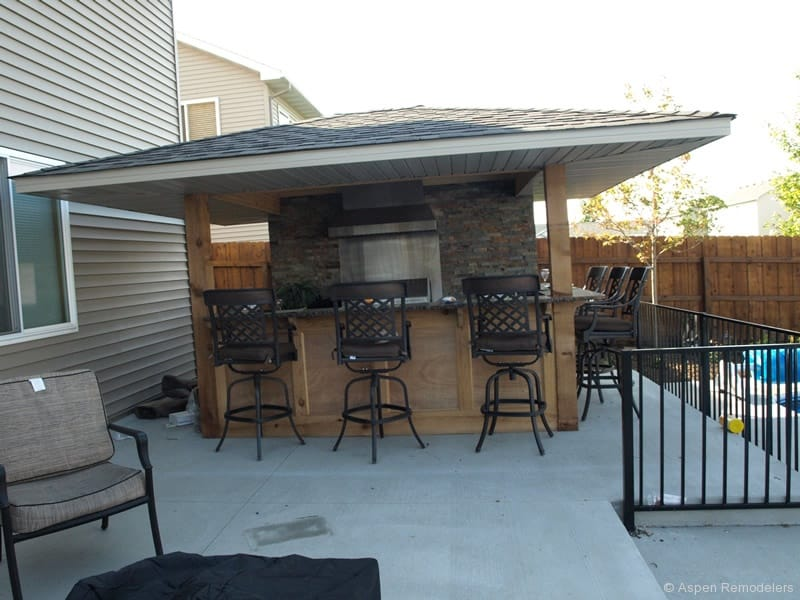 garage wood stove ideas - Outdoor Bar Best Gathering Place Ever Decoration Channel
