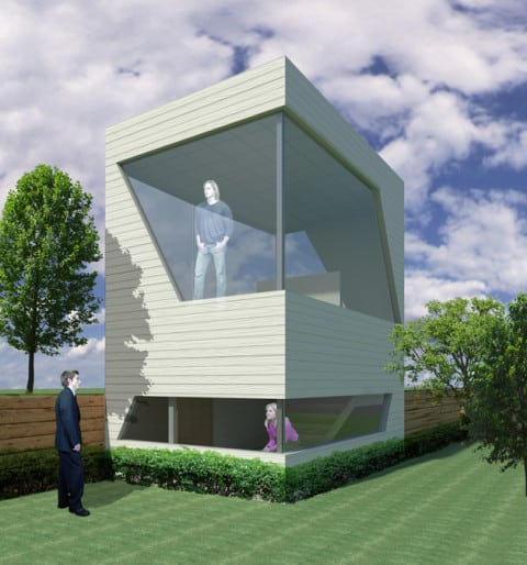 off white Compact House