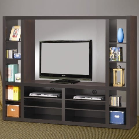 Wall Unit with particle board material