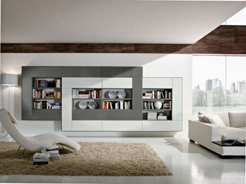 Wall Units for white room