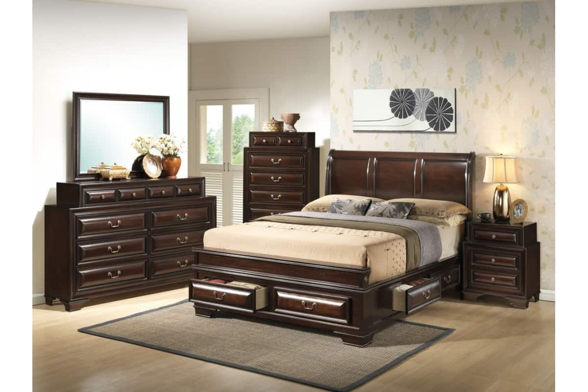 storage bed set bedroom set with storage ideas decoration channel 13397