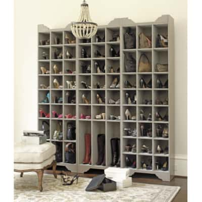 Shoe Storage with matching accessories