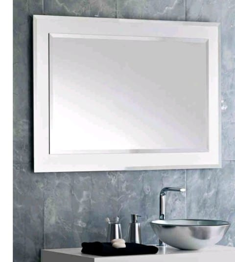 bathroom mirrors with contemporary design