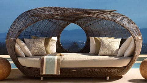 Daybed for outdoor furniture