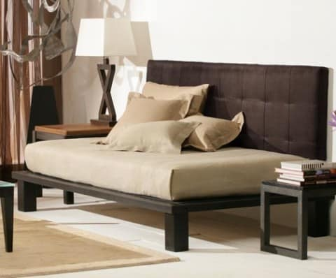 Daybed with matching cushions