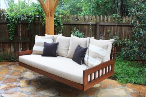 outdoor furniture with swing design