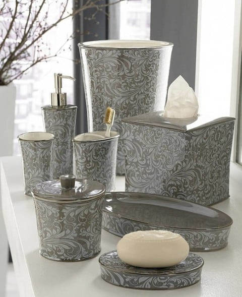 bathroom ornaments from marble