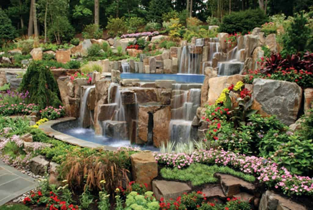 Tips to Get the Best Backyard Waterfalls - Decoration Channel on Patio Waterfall Ideas id=83750