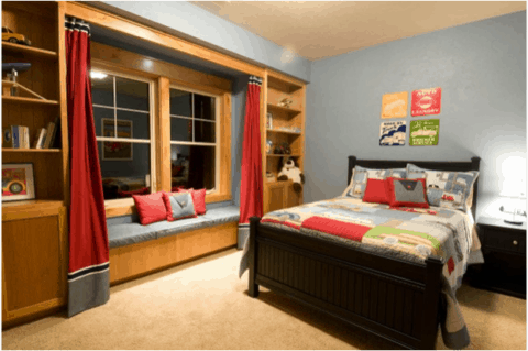 boys bedroom ideas with simple concept