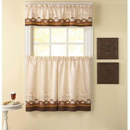 kitchen curtains for small window