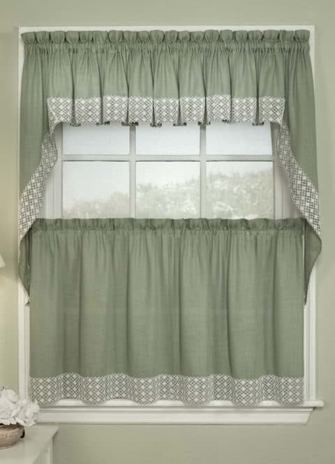 kitchen curtains with simple design