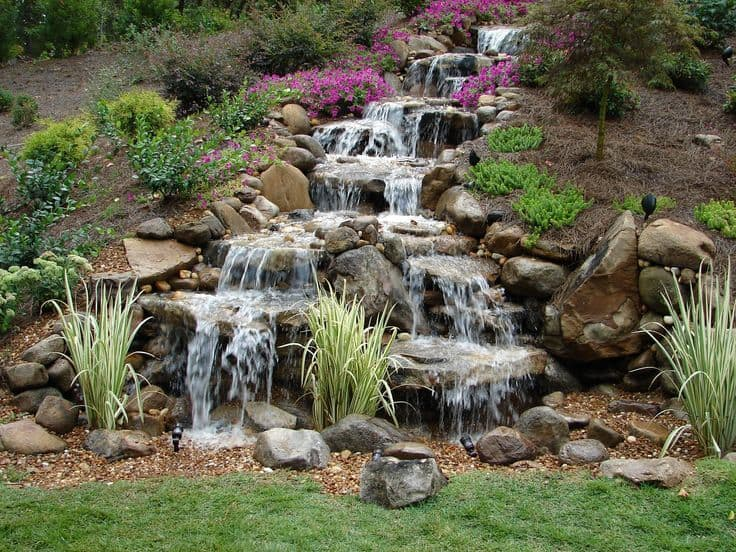 Tips to Get The Best Backyard Waterfalls - Decoration Channel on Patio Waterfall Ideas id=93938