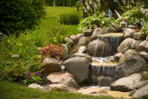Tips to Get the Best Backyard Waterfalls - Decoration Channel on Patio Waterfall Ideas id=18382