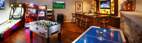 most innovative game room