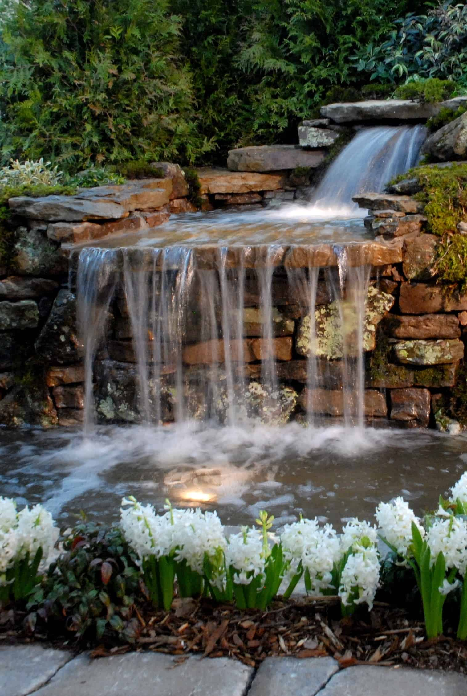 Tips to Get The Best Backyard Waterfalls - Decoration Channel on Rock Garden Waterfall Ideas id=50461