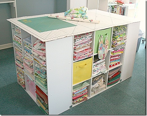 Craft Table for baby cupboard