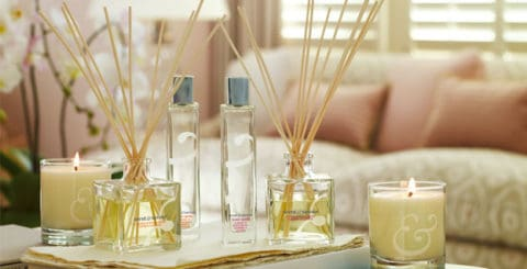 Fragrance for Home with candle