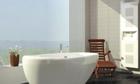 freestanding bathtubs on oval shape