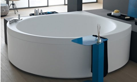 most awesome corner freestanding bathtubs