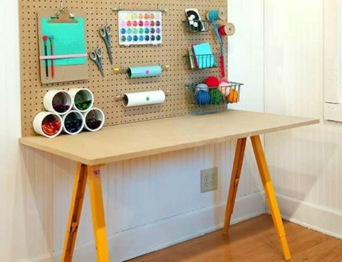 simple Craft Table concept