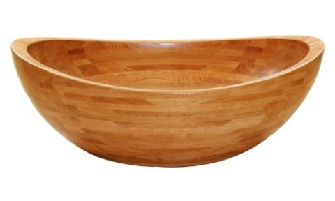 wooden freestanding bathtubs material