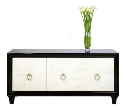 black and white buffet cabinet ideas