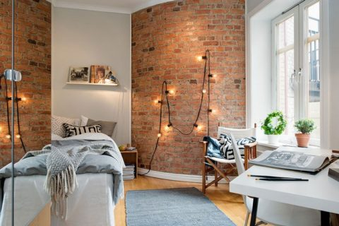chic Apartment for narrow space area