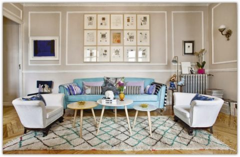 chic Apartment so colorful