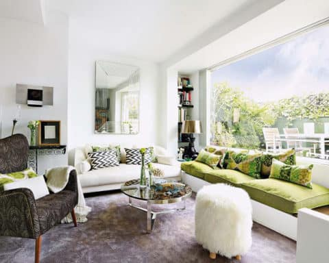 chic Apartment with terrace design