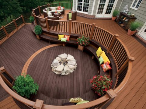 deck with perfect cushions