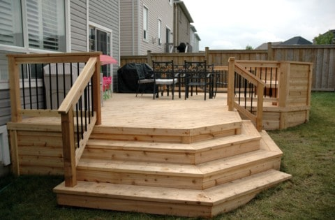 deck without finishing