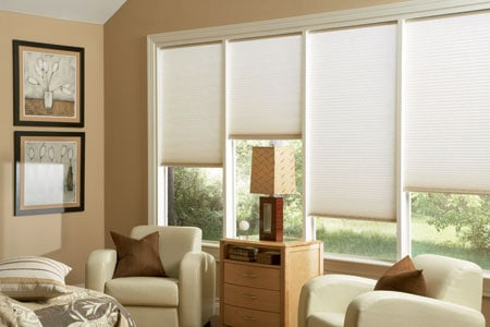 off white Cellular Shades color