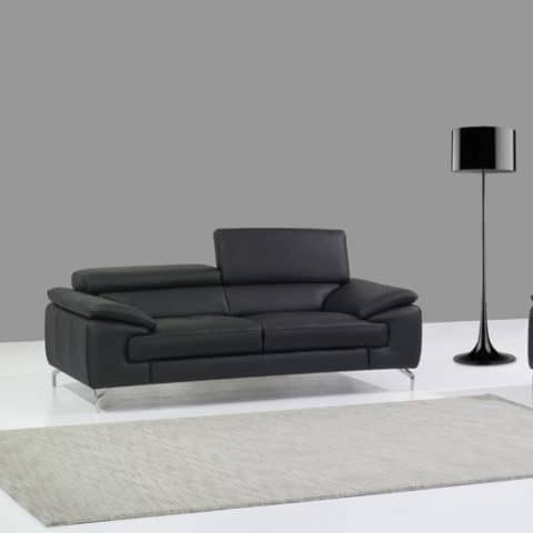 italian-leather-sofas-with-matching-floor-lamp