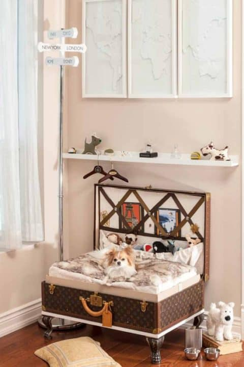 pet room ideas from reuse material