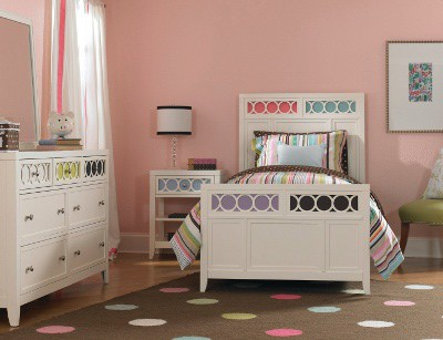 youth furniture in pastel color