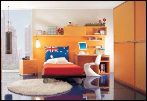 youth furniture with unique rugs