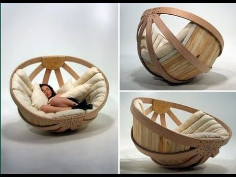 Papasan chair as a bed
