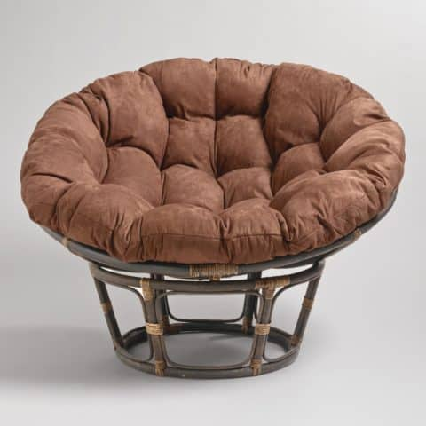 Comfortable papasan chair design
