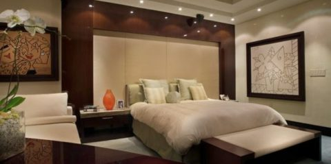 Comfortable bedroom interior design
