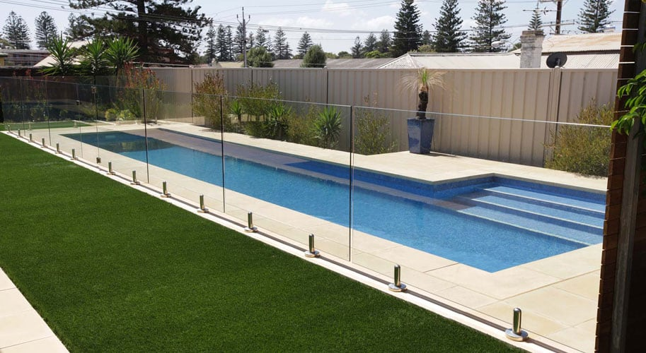 What Are The Dimensions And Cost Of A Small Lap Pool Decoration Channel