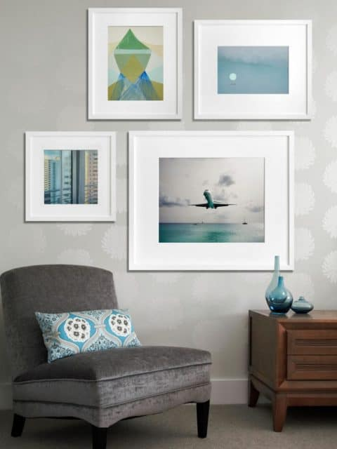 Simply gallery wall ideas