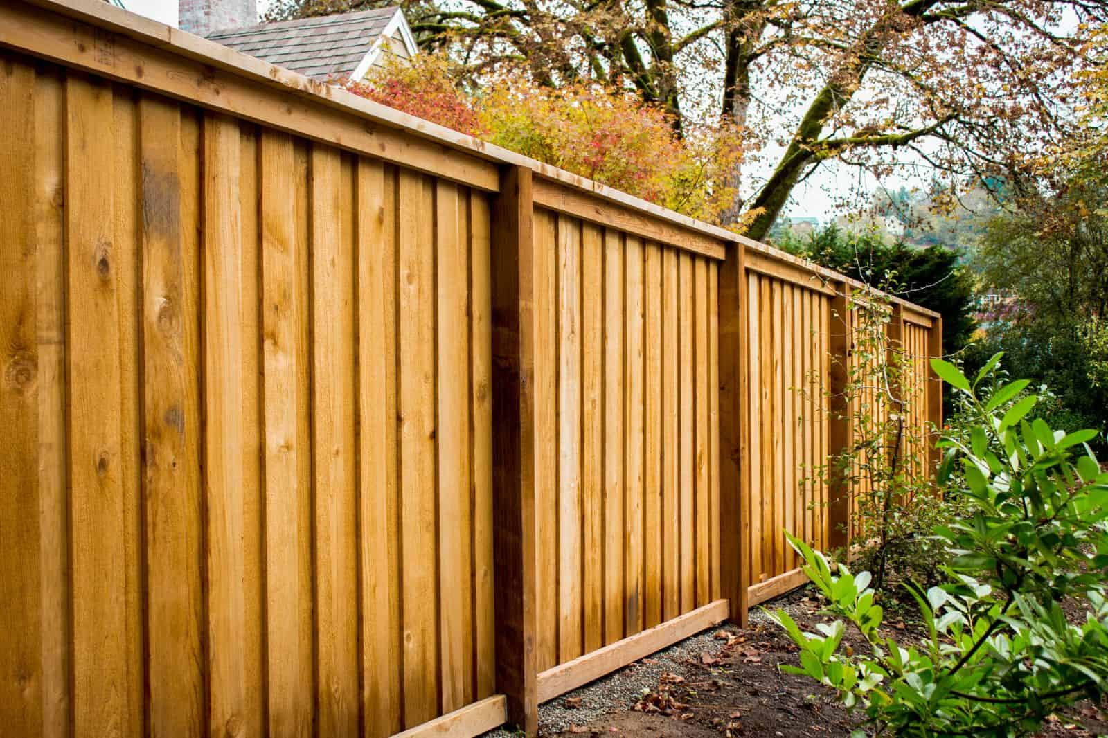 Natural fence concept