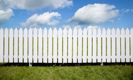 Off white fence color