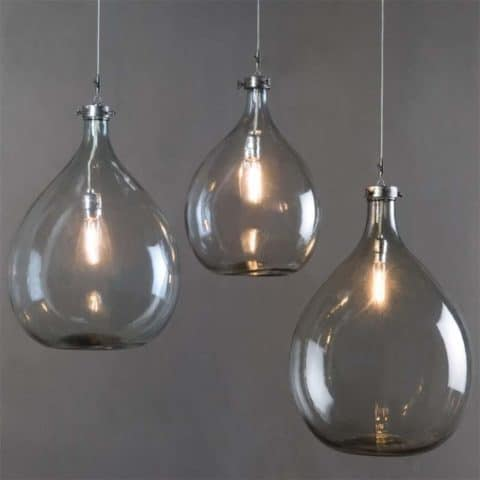 Pendant lighting with small blub
